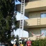 Leiternstellung
