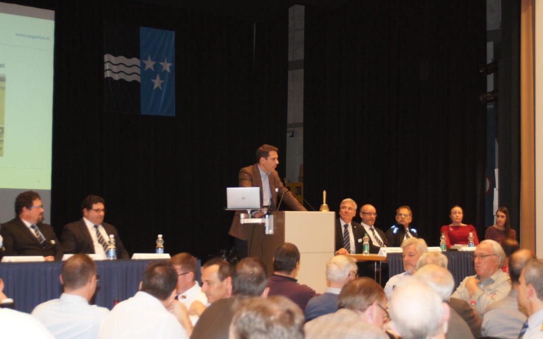 Spezialgast an der Delegiertenversammlung 2019
